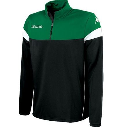 Novare Training Sweat 1/4 Zip Black / Green /  White
